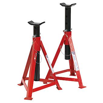 Sealey As3000 Axle Stands 2.5Tonne Cap Per Stand 5Tonne Per Pair Medium Height
