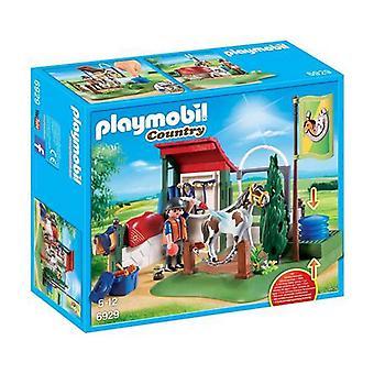 بلايسيت البلد الحصان تنظيف مجموعة Playmobil 6929