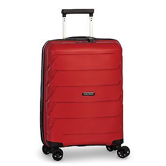 Fabrizio Worldpack Capri Handbagage Trolley S, 4 Wielen, 54 cm, 32 L, Rood
