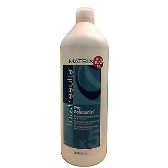 Matrix Total Results Pro Solutionist Concentrated Shampoo All Hair Types 33.8 OZ