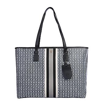 Tory Burch 58450892 Women's Black Canvas Tote
