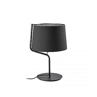 Berni Black Table Lamp 1 Bulb