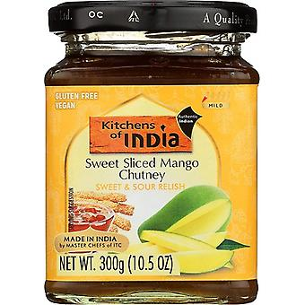 Kitchens of India Sweet Sliced Mango Chutney