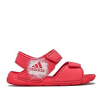 Girl's adidas Children AltaSwim Sandálias em Rosa