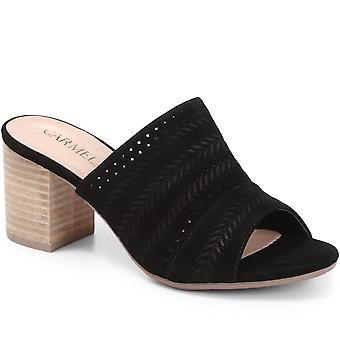 Carmela Womens Heeled Mule Sandal