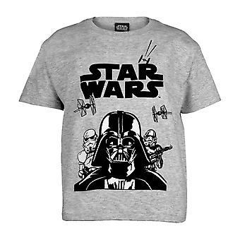 T-shirt Star Wars Vader et Stormtroopers Girls | Marchandises officielles
