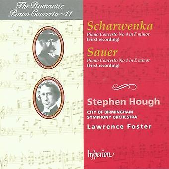 Scharwenka/Sauer - Scharwenka: Piano Concerto No. 4 in F Minor; Sauer: Piano Concerto No. 1 in E Minor [CD] USA import