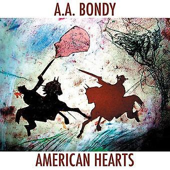 A.a. Bondy - American Hearts [CD] USA import