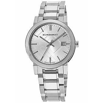 Burberry BU9000 Silver Dial Stainless Steel Unisex Watch