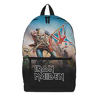 Iron Maiden Backpack Bag The Trooper Band Logo Eddie new Official Rocksax
