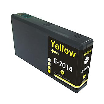 RudyTwos Replacement for Epson Pyramid Ink Cartridge Yellow(ExtraHighYield) Compatible with WorkForce Pro WP-4015, WP-4025, WP-4025DW, WP-4095, WP-4500, WP-4515, WP-4525, WP-4525DNF, WP-4535, WP-4535D