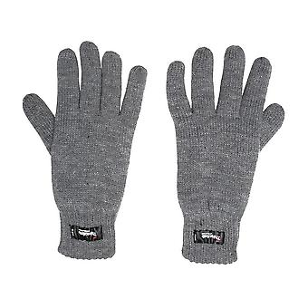 Peter Storm Men's Thinsulate Knit Gloves Grey