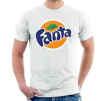 T-shirt dos homens do logotipo do círculo de Fanta
