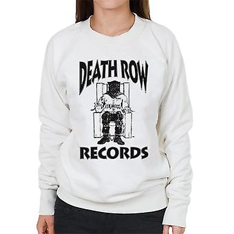 Death Row Records stoel Logo Black Women's Sweatshirt