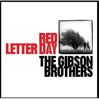 Gibson Brothers - Red Letter Day [CD] USA import