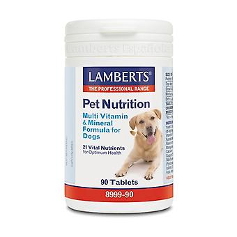 Pet Nutrition Multivitamins and minerals for dogs 90 tablets