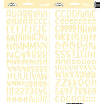 Doodlebug Design Bumblebee Abigail Stickers