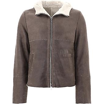 S.w.o.r.d 6.6.44 5295taupe Men-apos;s Brown Leather Outerwear Jacket