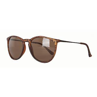 Sunglasses Unisex Cat.3 Brown/Brown (AMU19200 B)