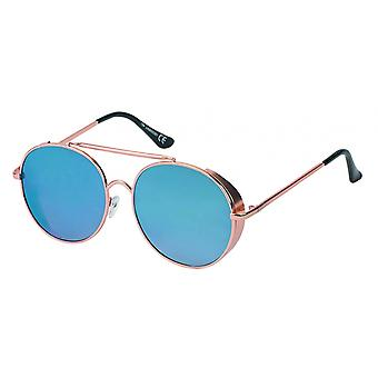 Sunglasses Unisex Cat.3 Blue Lens (19-085)