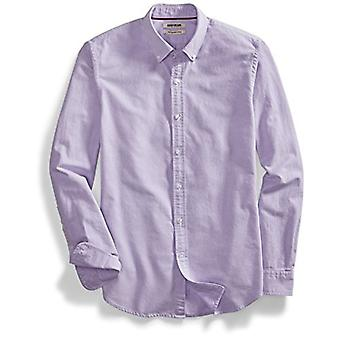 "Marke - Goodthreads Men's ""The Perfect Oxford Shirt""Slim-Fit Long-Sleeve Solid, Lila, XXX-Large Tall"
