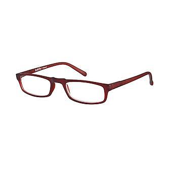 قراءة نظارات Unisex لو-0183D أنيمو الأحمر قوة +2.00