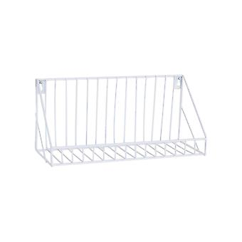 Creative Wall-mounted Iron Storage Racks Home Decoration Small White