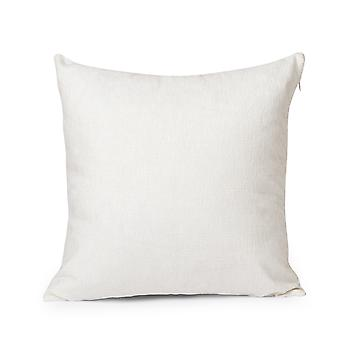 YANGFAN Square Solid Color Throw Pillow
