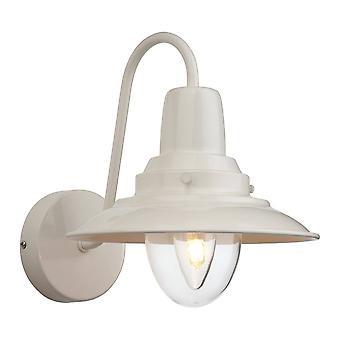 Firstlight Fisherman - 1 Light Indoor Wall Light Cream, Clear Glass, E14