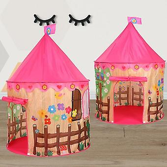 Kids Play Tent Ball - Princess Castle Portable Indoor Outdoor Baby Fun - House