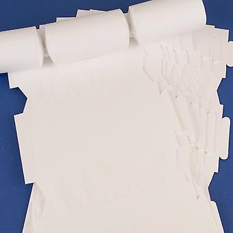 12 Smooth White Make & Fill Your Own DIY Recycleable Christmas Cracker Boards 12 Smooth White Make & Fill Your Own DIY Recycleable Christmas Cracker Boards 12 Smooth White Make & Fill Your Own DIY Recycleable Christmas Cracker Boards 1