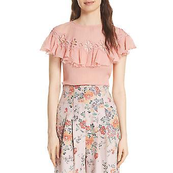 Rebecca Taylor Inc. | Short Sleeve Pinwheel Top