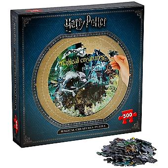 Harry Potter Magical Creatures Jigsaw Puzzle - 500 Pieces