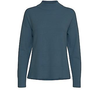 b.young Nonina Blue Knit Jumper
