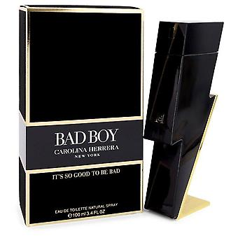 Bad Boy Eau de toilette spray af Carolina Herrera 3,4 oz Eau de toilette spray