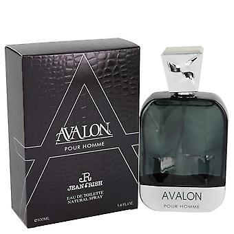 Avalon pour homme eau de toilette spray by jean rish 540855 100 ml