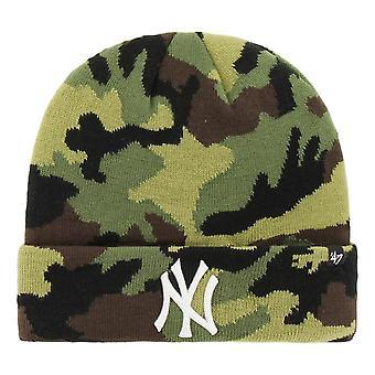 47 Brand New York Yankees Grove Beanie - Camo