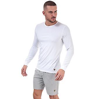Lyle e Scott Hugo, camiseta e shorts, em branco