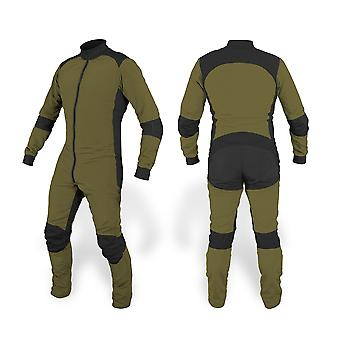 Freefly skydiving suit olive green se-03