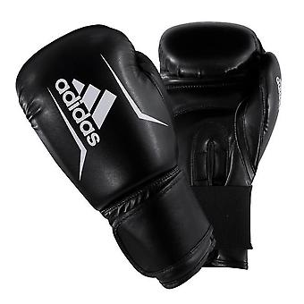 adidas Speed 50 Boxing MMA Training Sparring Gloves Black/White