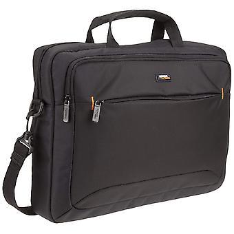 Amazonbasics 15.6-inch (40 cm) přenosný počítač a tablet taška přes rameno pouzdro, černá, 1-pack 4