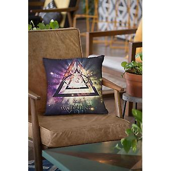 Illuminate watching you cushion/pillow