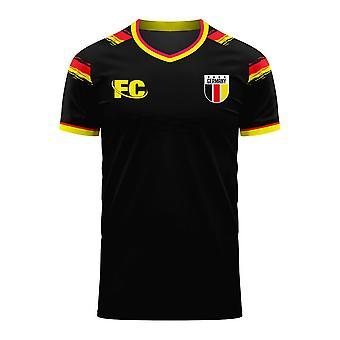 Duitsland 2020-2021 Away Concept Kit (Fans Cultuur)