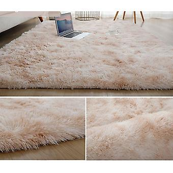 Plush Carpet For Living Room Thick Fluffy Velvet Mat