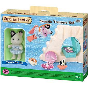 الأسر سيلفانيا - مجموعة الكنز على شاطئ البحر - البدلة الرسمية القط فتاة