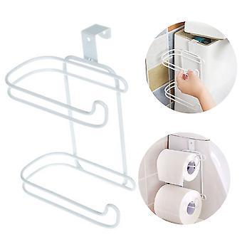 Toilet paper storage rack