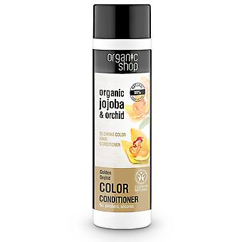 Organic Shop Hair Balm for Colored Hair with Jojoba and Orchid 280 ml