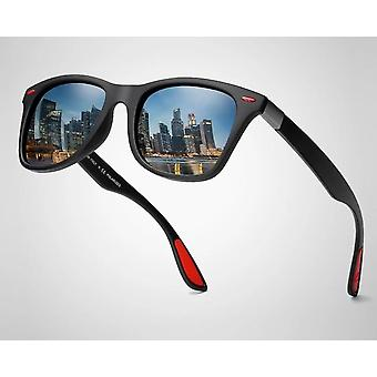 Men/women Classic Square Plastic Driving Sun Glasses Male Fashion Black Shades