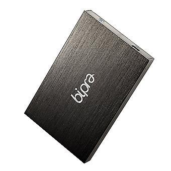 Bipra 320GB 320 gb 2,5 tommer ekstern harddisk bærbar usb 2.0 fat32- sort