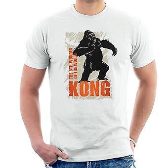 King Kong Rugiendo la 8a maravilla del mundo hombres's camiseta